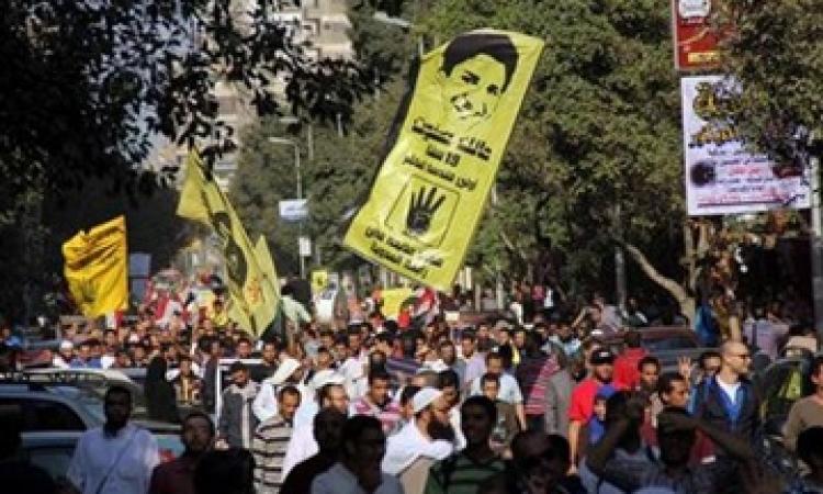 أنباء عن اعتصام أنصار المعزول بمزلقان عين شمس وسط غياب أمني