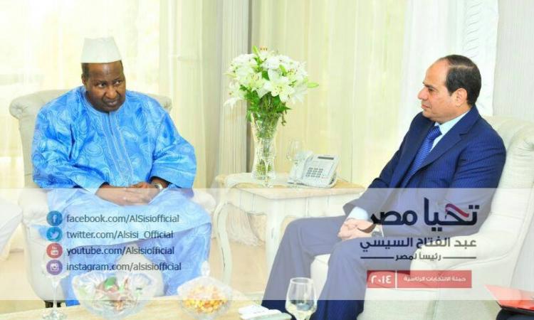 المشير السيسي يستقبل وفدًا من الاتحاد الافريقي