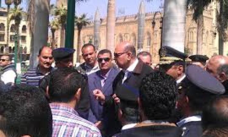 """بالصور.. مدير أمن القاهرة في جولة مفاجئة لتفقد """"الأكمنة الأمنية"""""""