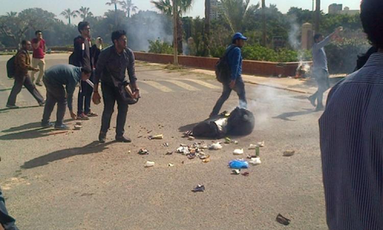 اشتباكات بين طلاب الإخوان بـ«هندسة الإسكندرية» وقوات الأمن
