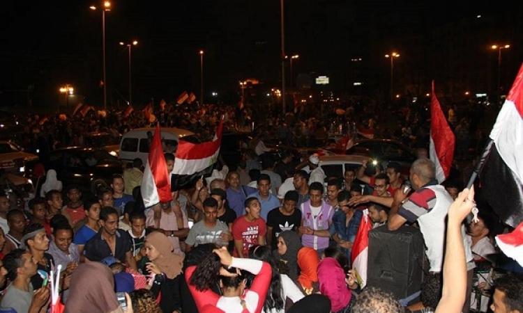 بالصور.. أجواء احتفالية لأنصار «السيسي» في التحرير
