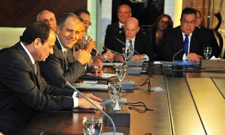 «السيسى» يستقبل وفدا من اتحاد الصناعات المصرية لبحث مستقبل القطاع