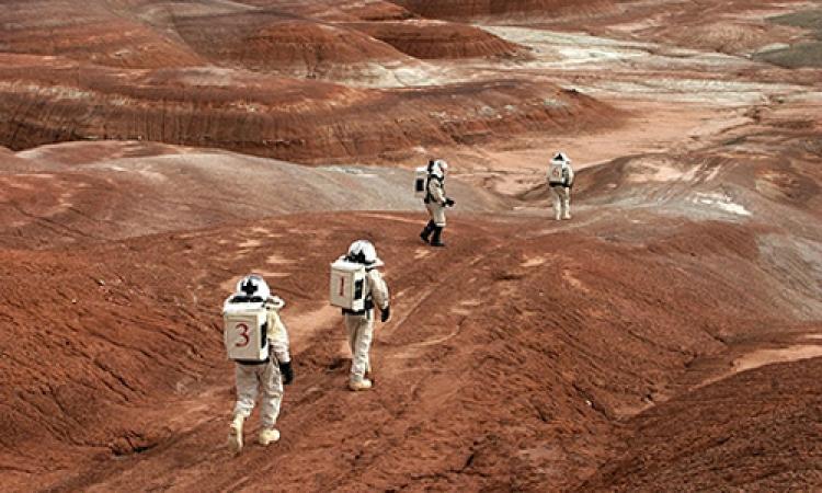 اكتشاف آثار مياه في الفضاء