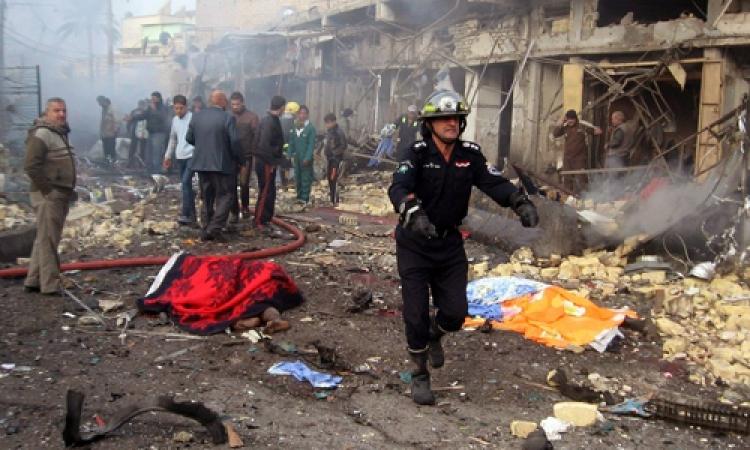 مقتل 19 شخصا إثر انفجار قنبلة قرب مسجد للشيعة وسط بغداد