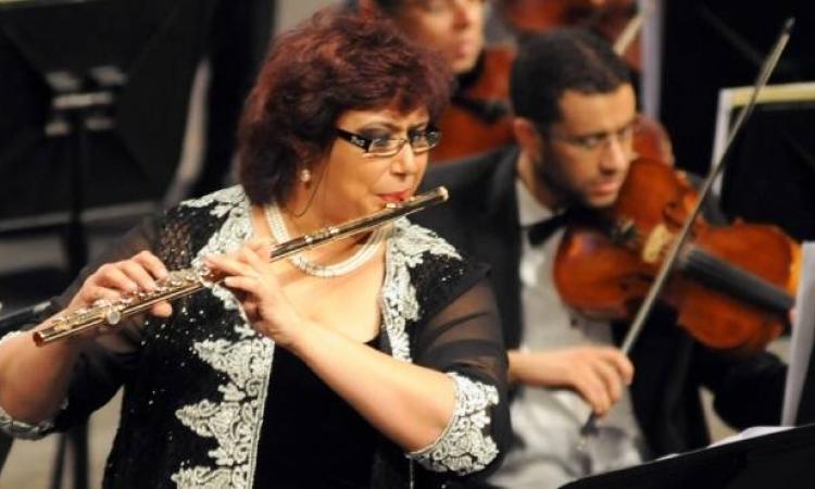 """فلوت """"إيناس عبد الدايم"""" بمعهد الموسيقي العربية الخميس المقبل"""