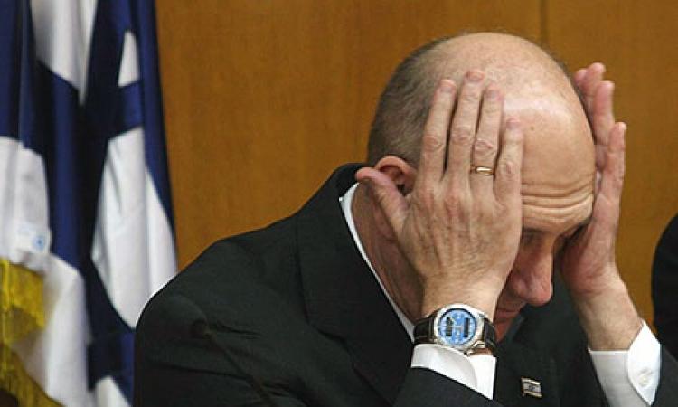 """الحكم بالسجن 6 سنوات لرئيس وزراء إسرائيل السابق """"أولمرت"""" لتلقيه رشاوى"""