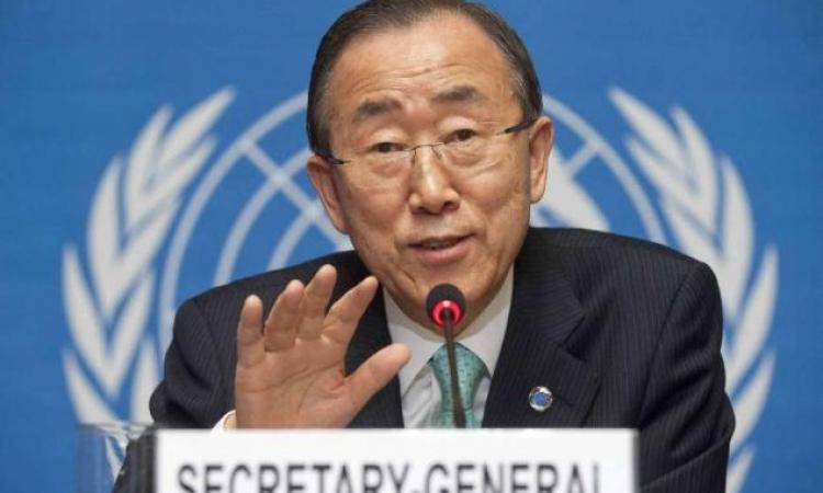 بان كي مون: قطع المياه عن حلب حرمان من أحد حقوق الإنسان الأساسية