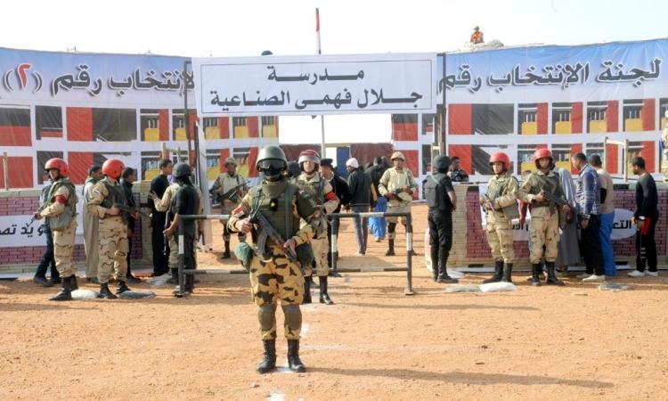 اليوم.. الجيش والشرطة يتسلمان المقار الانتخابية لتأمينها استعدادا لانتخابات الرئاسة