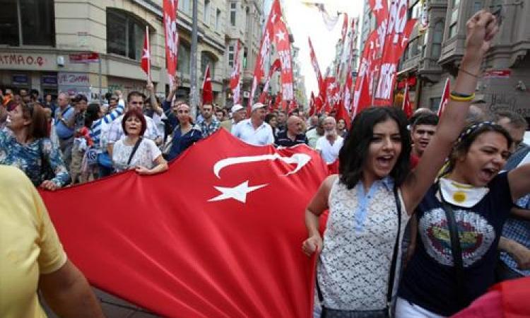 تركيا تبدأ محاكمة 255 شخصا متهمين بالمشاركة في تظاهرات 2013