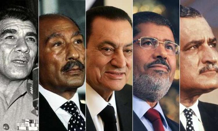 «السيسي» الرئيس السادس لجمهورية مصر العربية