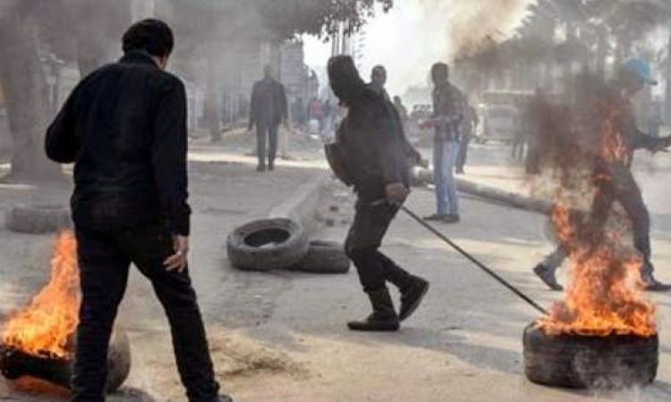 مصدر أمني: ضبط 4 من الإخوان ضمن مجموعة أشعلت النيران في إطارات لقطع طريق ميدان السواح