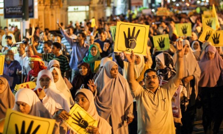 أنصار الإخوان ينظمون مسيرتين في بورسعيد للمطالبة بمقاطعة انتخابات الرئاسة