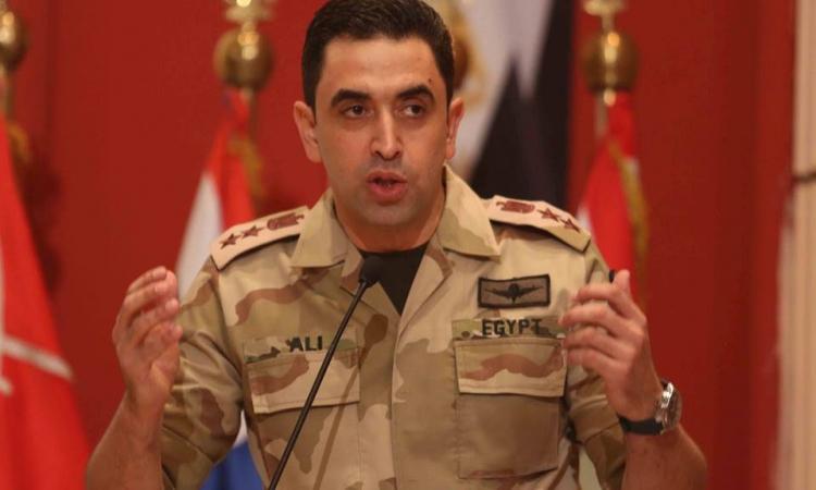 المتحدث العسكري:  ضبط 15 طن متفجرات بحوزة «إرهابيين» بالعريش