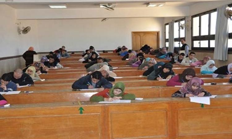 بدء امتحانات نهاية العام الجامعي بكليات جامعة الفيوم