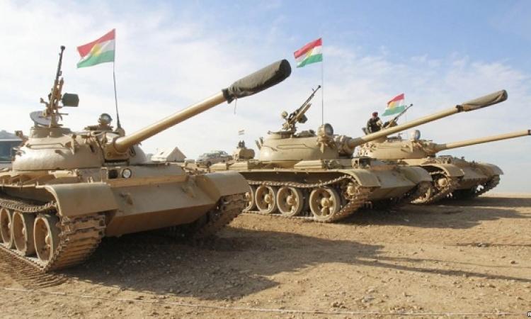 القوات الكردية تدخل سنجار في العراق و تقطع طريق لإمداد داعش