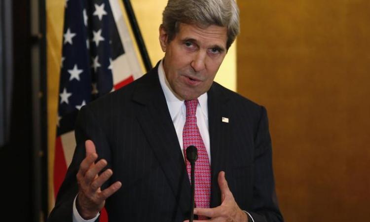 """كيري: الأسد هو """"المغناطيس"""" الذي جذب """"داعش"""" من مختلف أنحاء العالم"""