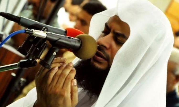 مصادر بـ«الأوقاف»: الشيخ حاتم فريد لن يصلي التراويح بالقائد إبراهيم والوزارة عينت آخر بديلا عنه