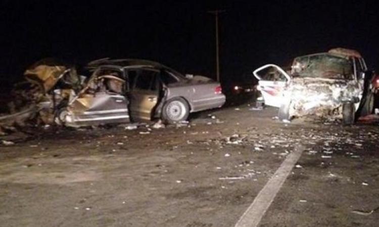 مصرع 3 عاملات وسائق وإصابة 5 إثر انقلاب سيارة تقلهم بالفيوم