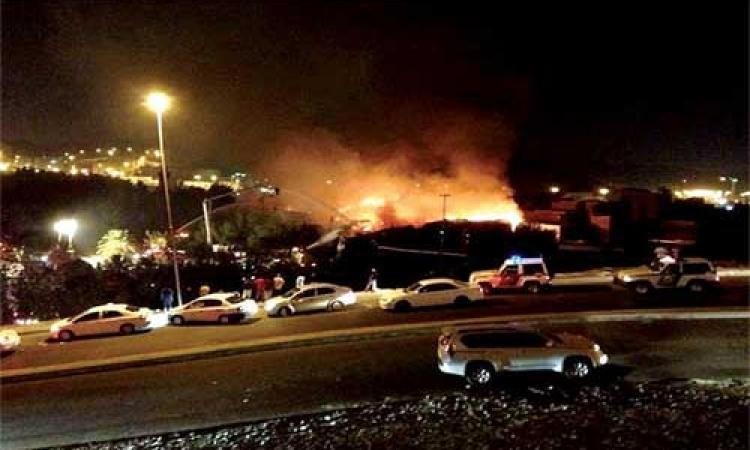 اكسترا نيوز: حريق ضخم فى مستودع كيميائى بولاية تكساس