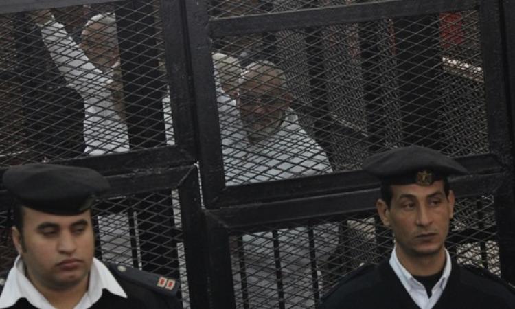"""اليوم .. استئناف محاكمة بديع و50 آخرين في قضية """"عمليات رابعة"""""""