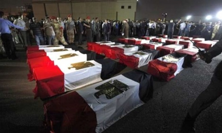 الموقع نيوز ينشر أسماء شهداء الجيش في كمين الفرافرة
