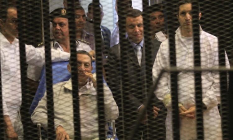 """3 آلاف شرطي يؤمنون جلسة الحكم على مبارك بـ """" قضية القرن """""""