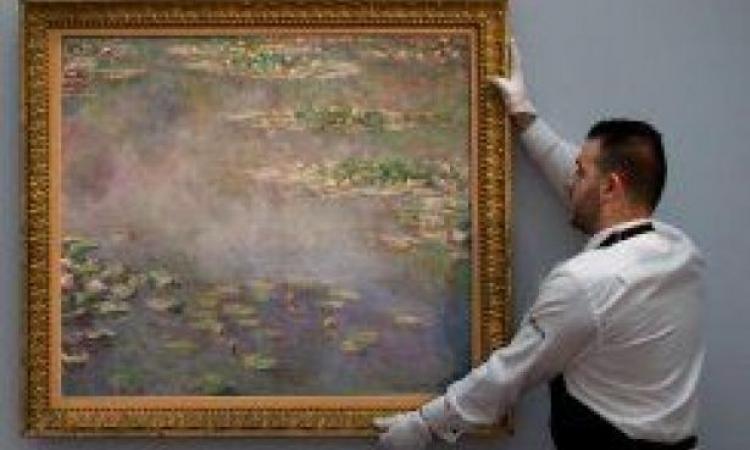 بيع لوحة للرسام الفرنسي مونيه بـ 54 مليون دولار