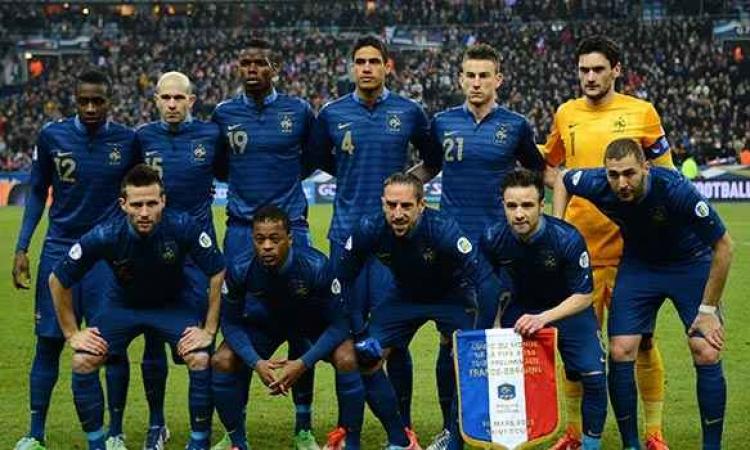 فرنسا تسعي لهزيمة سويسرا بالمونديال