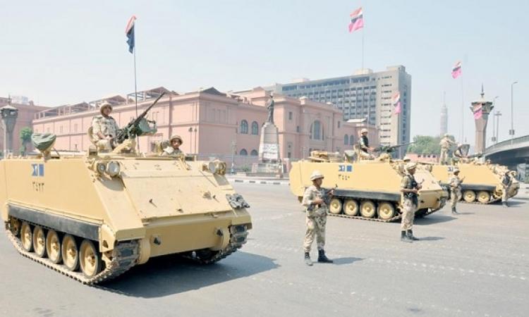 الجيش يواصل إغلاق ميدان التحرير لتأمين احتفالات ثانى أيام عيد الفطر