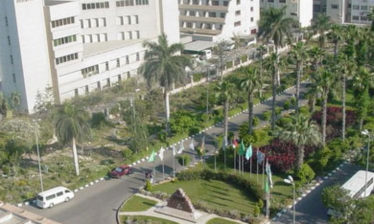 رئيس جامعة المنصورة يعقد اجتماعًا بلجنة تنظيم المعرض التعليمي الأول