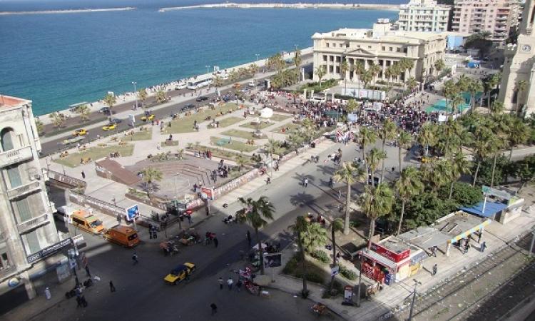 إصابة ضابط ومجند بطلقات خرطوش خلال تفريق مسيرتين للإخوان بالأسكندرية