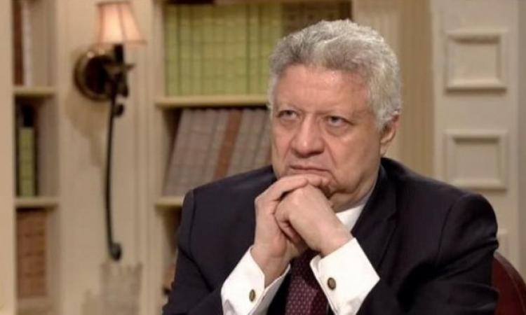 مرتضى منصور يدين العمل الإرهابى الذى راح ضحيته المستشار هشام بركات