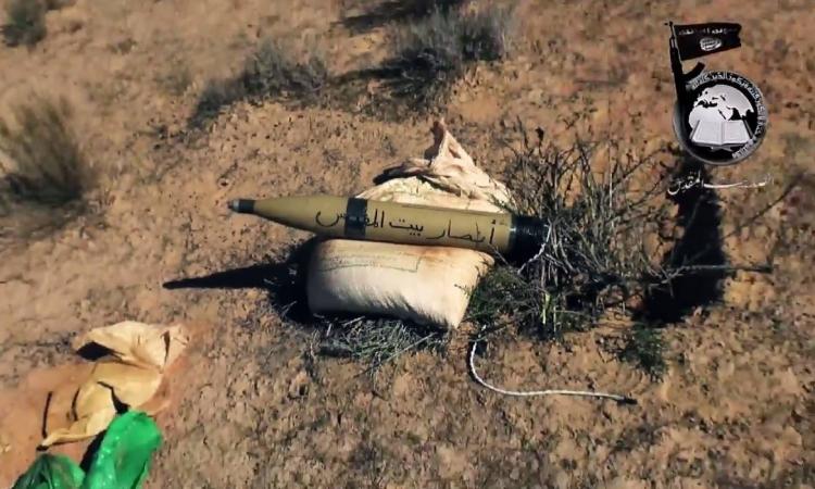 بالفيديو .. أنصار بيت المقدس تطلق 5 صواريخ علي اسرائيل