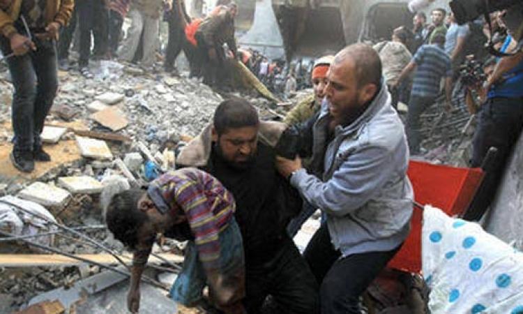 ارتفاع حصيلة العدوان الإسرائيلي على غزة إلى 98 شهيدا و670 جريحا