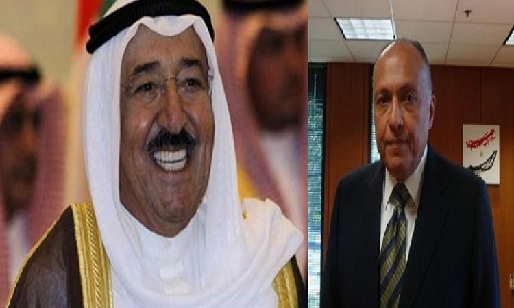 أمير الكويت:  نعول علي مصر في إعادة الاستقرار إلي المنطقة العربي