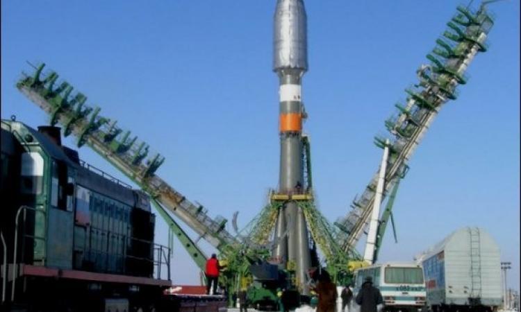 اطلاق صاروخ روسي يحمل أقمارا اصطناعية أوروبية للفضاء