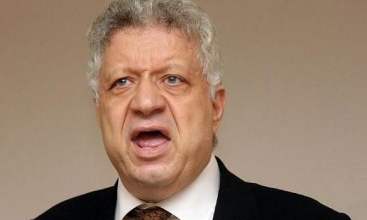 مرتضى منصور يعلن الانسحاب من الدورى ويؤكد: اتحاد الكرة فاشل والتحكيم فاجر