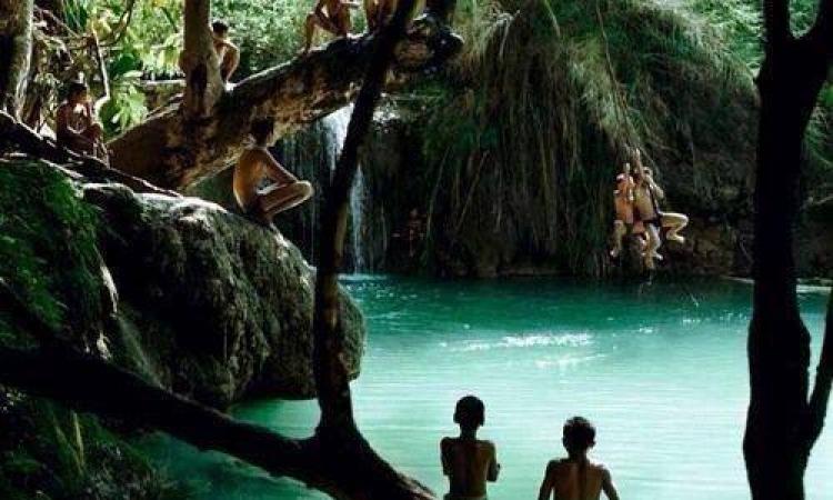 بالصور .. الاستحمام فى قلب الغابة .. متعة وإثارة