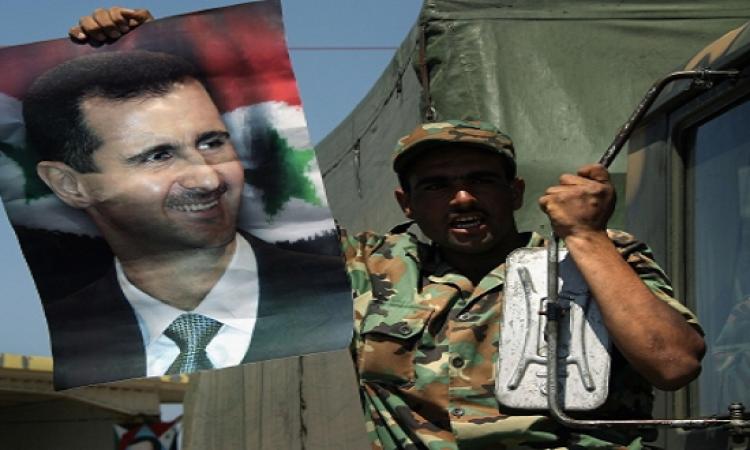 قوات الأسد تحتشد بمطار كويرس في حلب وداعش يواصل هجماته
