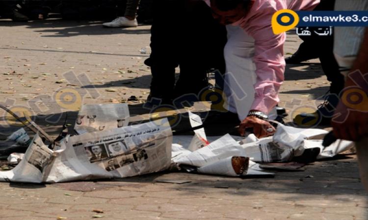 الموقع نيوز .. ينشر صور انفجار بولاق ابو العلا