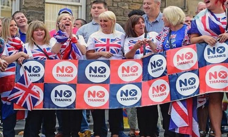 استطلاع للرأي يؤكد أن غالبية البريطانيين ضد انفصال اسكتلندا