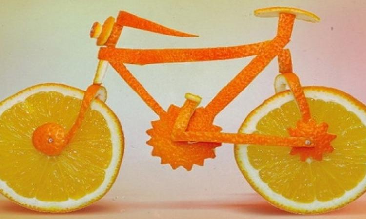 بالصور .. ابداعات فنية مرحة .. باستخدام الأطعمة والخضروات
