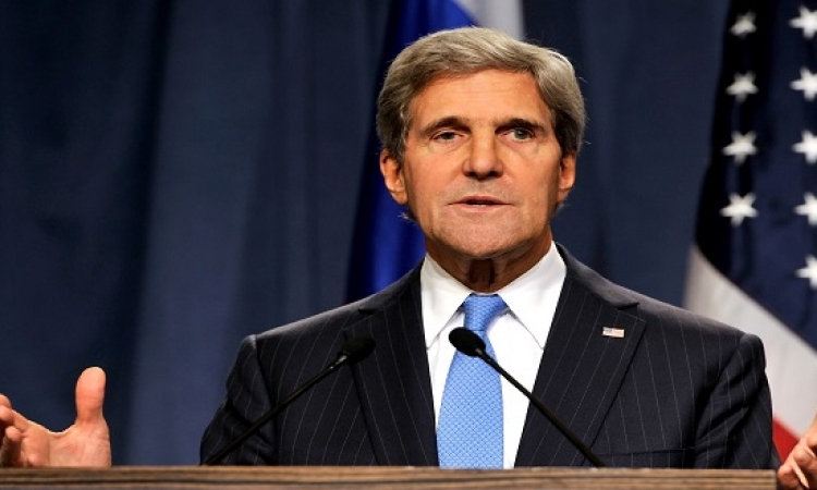 كيري : حل الدولتين هو السبيل الوحيد للسلام بين الفلسطينيين والإسرائيلين