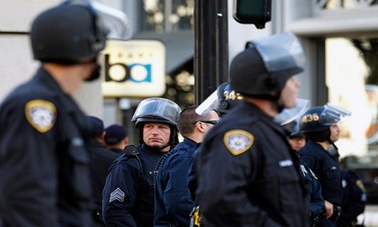 شرطة نيويورك تقبض على 9 إخوان حاولوا الاعتداء على الوفد الصحفى المصرى