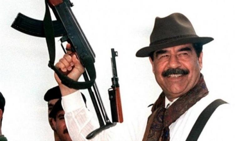 فيديو نادر للرئيس العراقي صدام حسين أيام حرب إيران