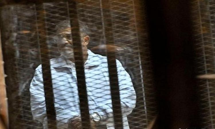 """تأجيل محاكمة مرسي و35 آخرين من جماعة الإخوان في قضية """"التخابر"""" إلى 14 ديسمبر"""