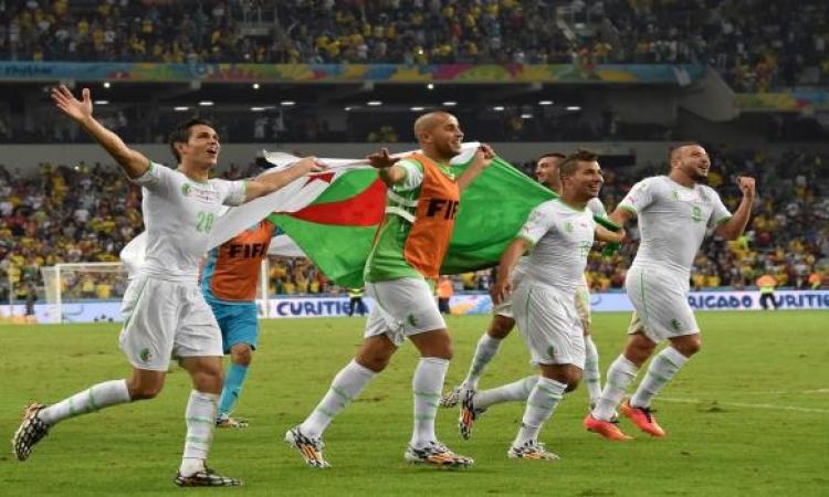 الجزائر تتأهل إلى نهائيات كأس أمم إفريقيا 2015