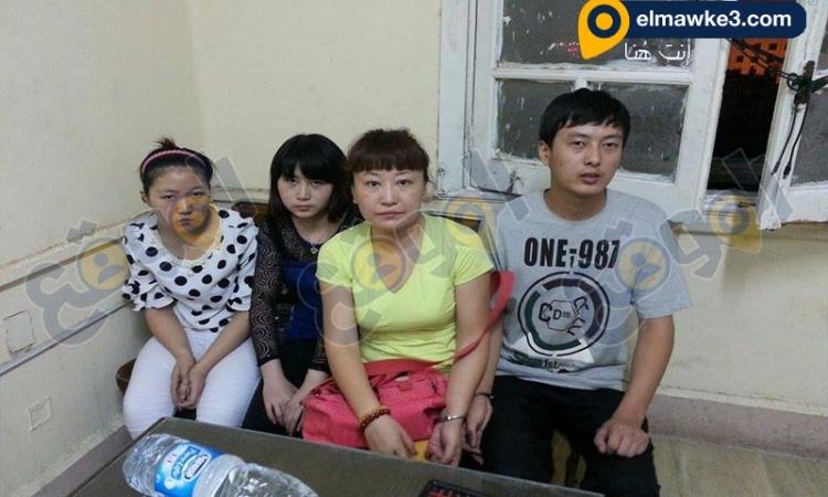بالصور.. القبض على مخرج و3 صينيات لممارستهم الدعارة داخل مركز صحى بالمعادى