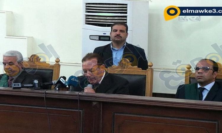 بالصور.. جلسة قضية أحداث شغب قسم الأزبكية