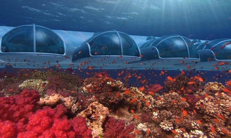 بالصور.. اول منتجع سياحي 5 نجوم تحت الماء